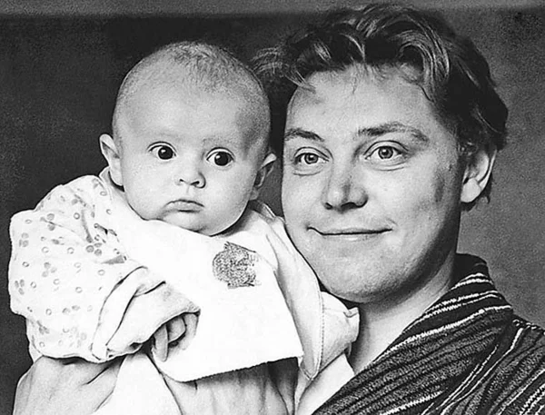 Вячеслав Невинный с сыном Вячеславом