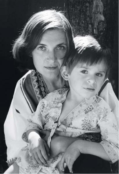 Ольга Гобзева с сыном