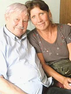 Донатас Банионис с Ольгой Рябиковой
