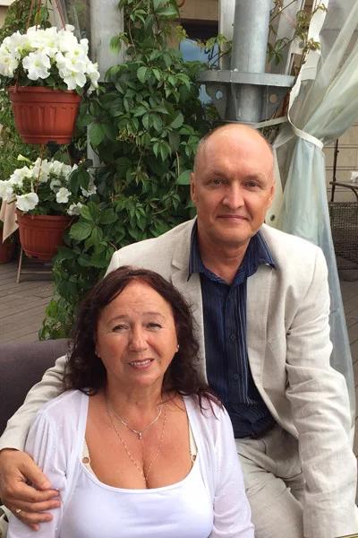 Наталья Попова с мужем Андреем Босовым