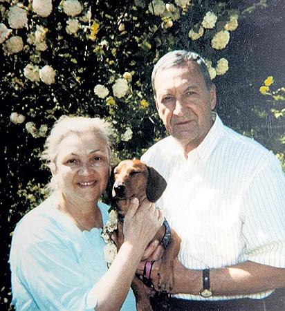 Лев Поляков с женой Инной Выходцевой