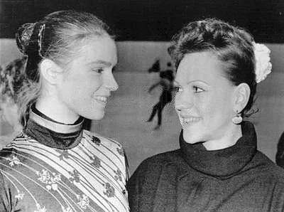 Катарина Витт и Кира Иванова