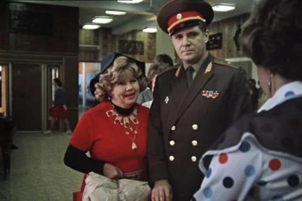 """Муза Крепкогорская и Владимир Гусев. """"Москва слезам не верит"""" 1979 г."""