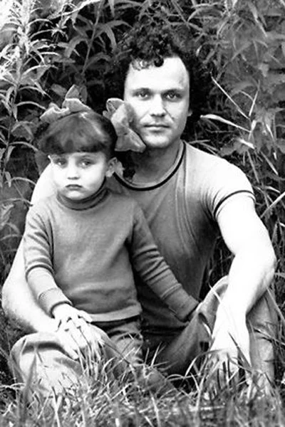 Николай Еременко с дочерью Олей