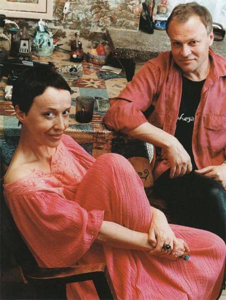 Александр Соловьев с Ириной Печерниковой