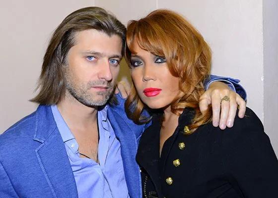 Азиза с Александром Бродолиным