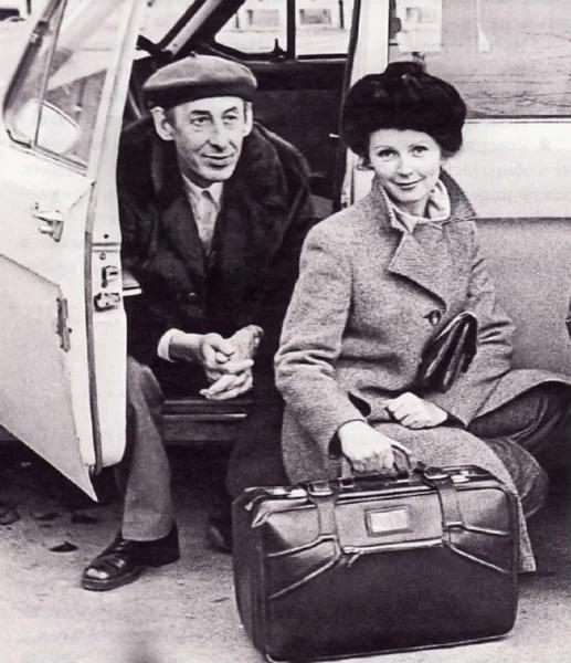 Валентина Титова с Владимиром Басовым