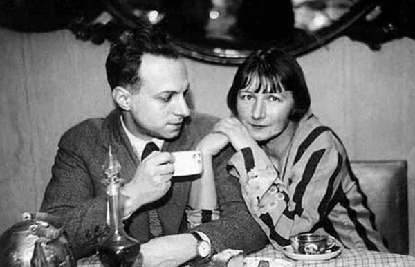 Рина Зеленая с мужем Константином Топуридзе