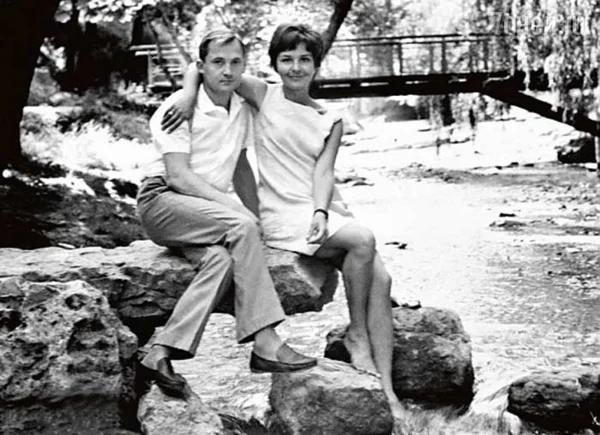 Виктор Павлов с женой Татьяной