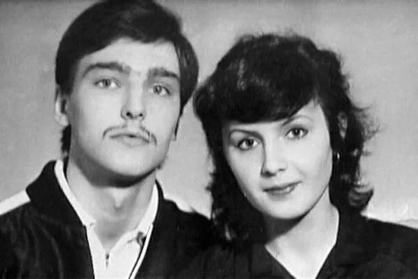 Андрей Державин с женой