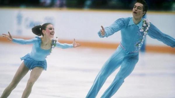 Екатерина Гордеева и Сергей Гриньков на льду