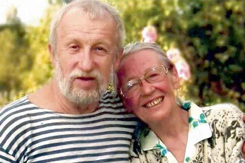 Ия Саввина с мужем Анатолием Васильевым