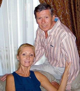 Виктор Ильичев с женой Светланой Осиевой