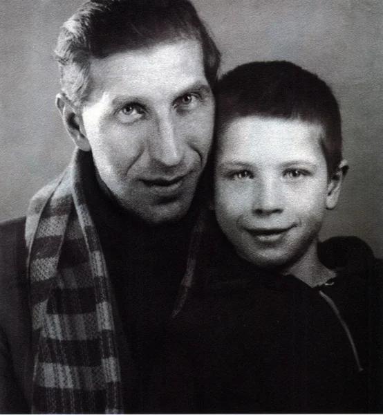 Сергей Филиппов с сыном Юрием