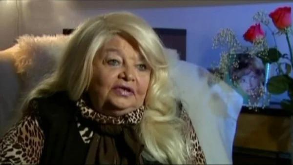 Наталья Кустинская в старости