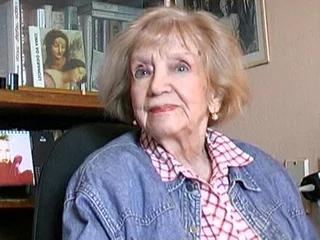 Марина Ладынина в старости