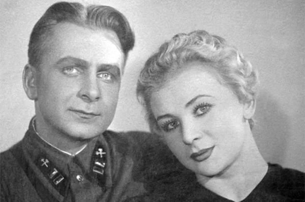 Валентина Серова с первым мужем – Анатолием Серовым