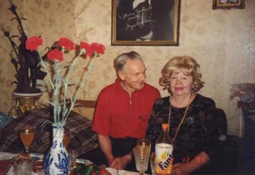 Георгий Юматов с Музой Крепкогорской