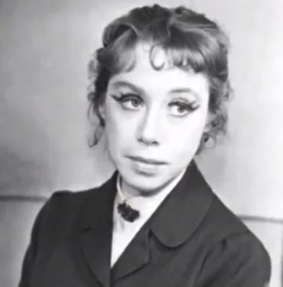 Евгения Ханаева в молодости