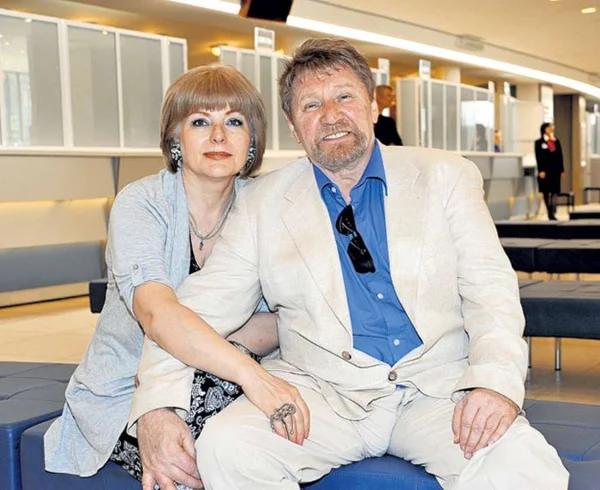Семен Морозов с третьей женой, Светланой