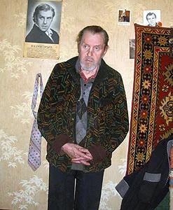 Константин Григорьев в старости