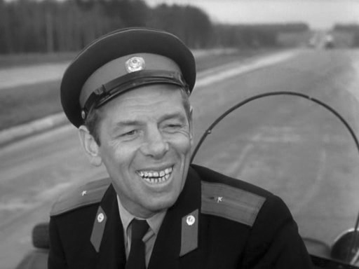 "Георгий Жженов. ""Берегись автомобиля""."