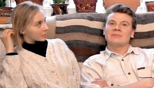 Владислав Галкин с 3-ей женой Валентиной Елиной