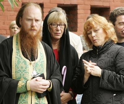 Отец Дмитрий и Е. Васильева. Фото gultus. org. ru