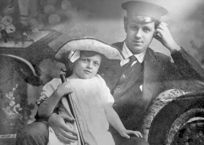 Иван Пельтцер с дочерью Татьяной