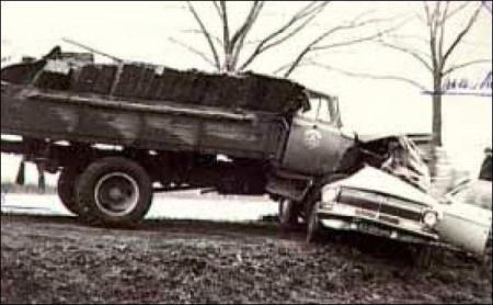 Автокатастрофа, в которой погиб Леонид Быков