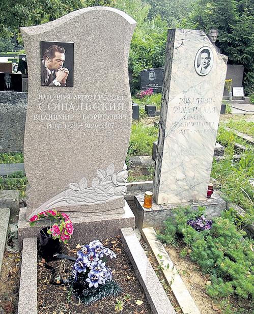 Могила Владимира Сошальского