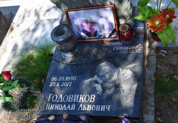 Могила Николая Годовикова