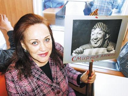 Светлана Чекир — племянница Алексея Смирнова, дочь сестры Валентины