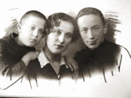 Аркадий, Анна Ивановна и Алексей Смирновы