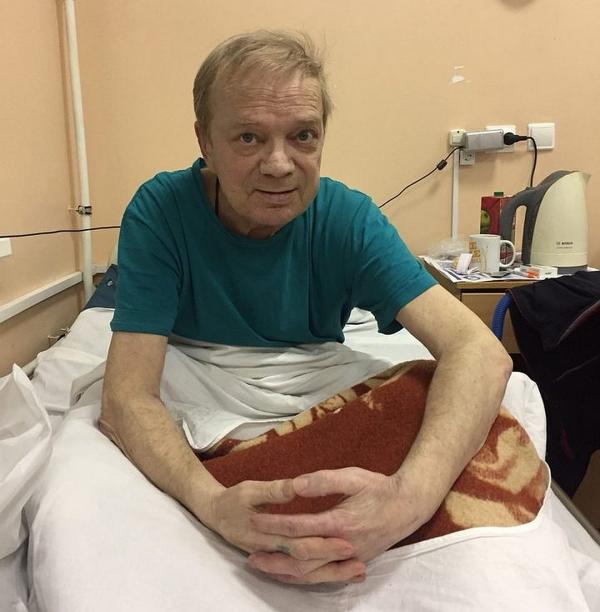 Николай Годовиков в больнице