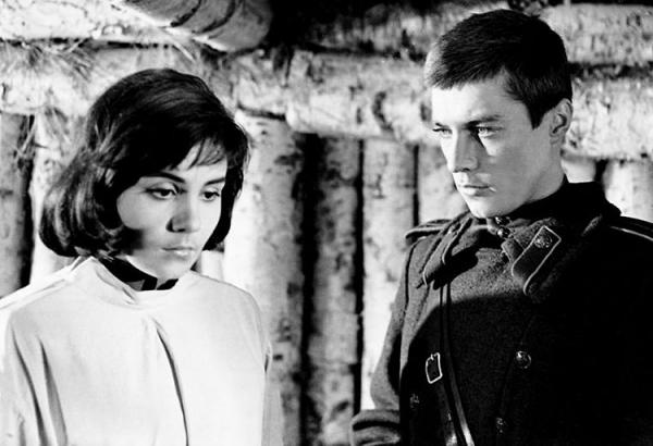 "Валентина Малявина и Евгений Жариков. ""Иваново детство"" 1962 г."