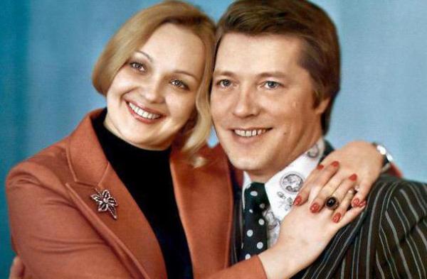 Наталья Гвоздикова и Евгений Жариков