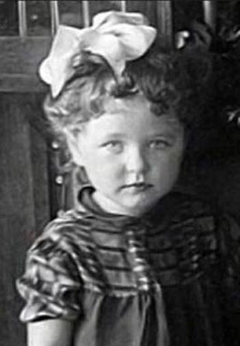 Наталья Фатеева в детстве