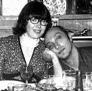 Регина Быкова и Михаил Козаков
