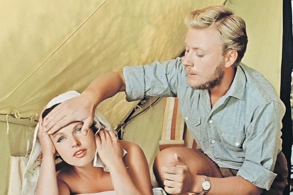 """Наталья Фатеева и Андрей Миронов. """"Три плюс два"""" 1962 г."""