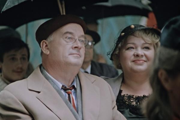 """Соев (Евгений Моргунов) с женой. """"Покровские ворота"""""""