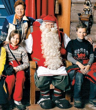Татьяна Секридова с дочерью Катей и сыном Сергеем