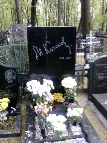 могила Козакова