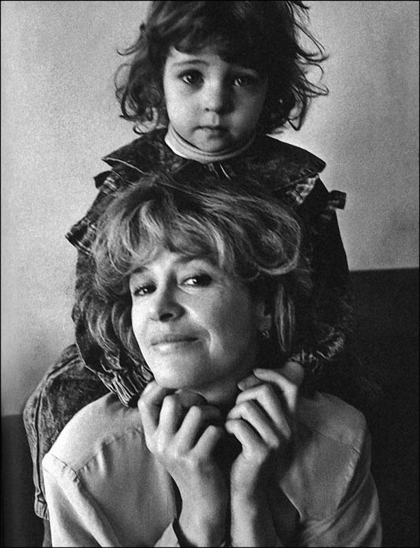 Марина Неелова с дочерью Никой