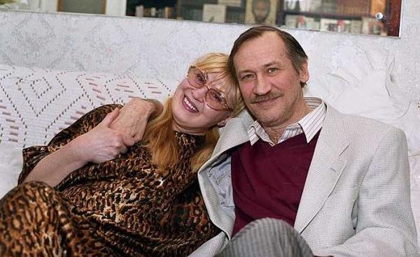 Нина Шацкая и Леонид Филатов