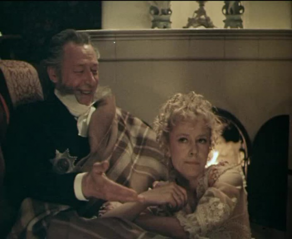 """Олег Ефремов и Марина Неелова. """"Чужая жена и муж под кроватью"""" 1984 г."""
