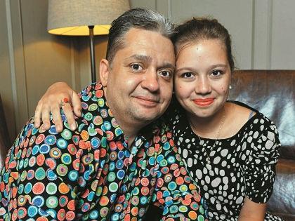 Дмитрий Барков с дочерью Марией