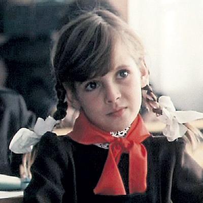 Инга Ильм в детстве