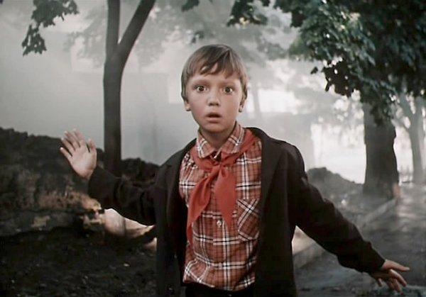 Дмитрий Барков в детстве