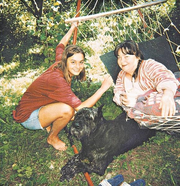 Нина Дорошина с племянницей Ниной